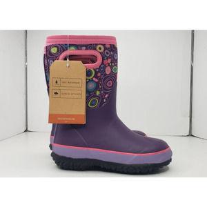 Bogs Circle Grasp Soft Top Rain Utility Boots 12